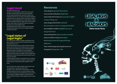 Legal highs & headshops: some basic facts  - Drugs and Alcohol