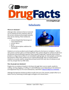 DrugFacts: Inhalants  - Drugs and Alcohol
