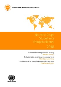 Narcotic drugs  Estimated world requirements for 2019
